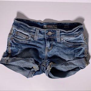BKE Sabrina Denim Shorts size 24